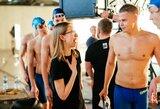 Ką D.Rapšys veikė Vilniaus baseine naktį?