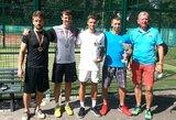 Padelio mėgėjai vėl rungtyniavo LPF turnyre