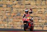"""Permainingas lenktynes laimėjęs M.Marquezas sudavė rimtą smūgį varžovams """"MotoGP"""" čempionate"""