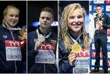 Geriausias čempionatas šalies istorijoje: už Lietuvos plaukikų nugaros – Europos milžinės