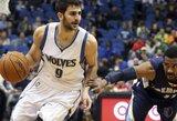 """""""Timberwolves"""" neketina iškeisti R.Rubio"""