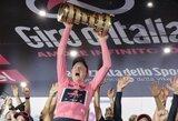 """Įspūdingos """"Giro d'Italia"""" lenktynės baigėsi T.Geoghegano Harto triumfu"""
