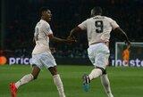 """Stebuklas Paryžiuje: įdomioji """"Manchester United"""" ir PSG statistika"""