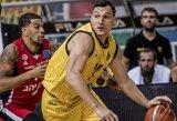 Naudingai žaidęs J.Mačiulis prisidėjo prie AEK pergalės FIBA Čempionų lygoje