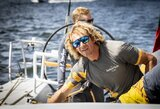 """""""Ambersail 2"""" varžosi su sidabrą """"Volvo Ocean Race"""" lenktynėse iškovojusiu kapitonu B.Bekkingu"""