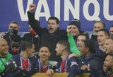 """Pirmąjį trofėjų su PSG laimėjęs M.Pochettino: """"Tai yra tik pradžia"""""""