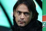 """Oficialu: """"Milan"""" atleido C.Seedorfą – į jo vietą stoja F.Inzaghi"""