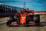 """""""Ferrari"""" pratęsė kontraktą su C.Leclercu, jo alga patrigubėjo"""
