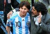 D.Maradona ar L.Messi: vienas iš jų tapo futbolo reiškiniu