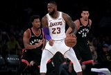 """Nepadėjo ir """"Karalius"""": tokio prasto kėlinio """"Lakers"""" neturėjo per visą komandos istoriją"""