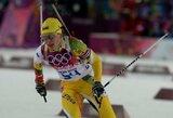 Pasaulio biatlono taurės etape Kanadoje Lietuvos komandos užėmė paskutines vietas