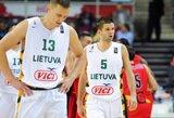Žvėriškai žaidęs J.Valančiūnas neišgelbėjo lietuvių nuo fiasko prieš belgus