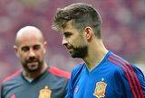 Oficialu: G.Pique pasitraukė iš Ispanijos rinktinės