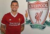 "Oficialu: D.Lovrenas pratęsė sutartį su ""Liverpool"""