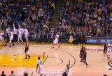 S.Curry tritaškis iš pusės aikštės: kaip juos meta kiti NBA krepšininkai?