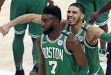Įspūdingus dėjimus NBA dienos epizodo rinkimuose pranoko pergalingas metimas