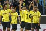 """""""Borussia"""" sutriuškino savo varžovus, """"Bayern"""" turėjo vargo su """"Vilkais"""" (+ kiti rezultatai)"""