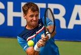 """R.Berankis susitvarkė su italu F.Gaio ir žengė į kitą """"US Open"""" turnyro etapą"""