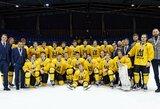 Trečiajame kėlinyje intrigą atgaivinę lietuviai pelnė pasaulio jaunimo IIA čempionato bronzą