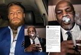 M.Tysono marihuanos paragavęs C.McGregoras išsiaiškino santykius su legendiniu boksininku
