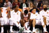 """Tiesiog sutraiškyta """"Suns"""" tapo NBA antirekordo autore"""