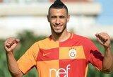 """Oficialu: """"Galatasaray"""" įsigijo du žinomus futbolininkus, L.Spalvio ekipa įsigijo patyrusį puolėją"""