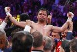 """M.Pacquiao kelia savo sąlygas: """"Kovosiu su Conoru tik tada, jei būsiu vienas iš renginio organizatorių"""""""
