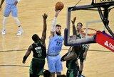 "J.Valančiūnas dvigubu dubliu prisidėjo prie pergalės prieš ""Celtics"""