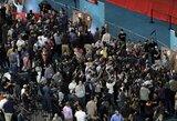 """Pamišimas dėl """"Super Bowl"""" prasidėjo: žiniasklaidos diena - kai futbolas susitinka cirką"""