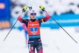 Pasaulio biatlono taurės estafetėje – norvegių pergalė
