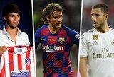 Didžiausi išlaidūnai: kurie klubai šią vasarą išleido daugiausiai pinigų naujokams?