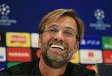 """J.Kloppas atskleidė, kokiomis komandomis žavisi: ne tik """"Borussia"""""""