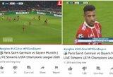 """""""Youtube"""" kanalas apgavo dešimtis tūkstančių žmonių: transliavo senas """"Bayern"""" ir PSG rungtynes"""