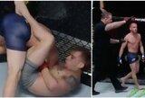 Paskutinėje sezono kovoje dėl vietos UFC – kontroversiškas teisėjo sprendimas
