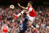 """Maloni užuomina """"Arsenal"""": P.E.Aubameyangas nori pratęsti kontraktą?"""