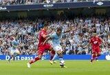 Anglijos čempionai sezoną pradėjo sunkia pergale prieš lygos naujokus