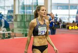 Lietuvos čempionate A.Palšytė bandė gerinti rekordą, A.Skujytė pasiekė revanšą