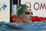Asmeninį rekordą pagerinęs M.Sadauskas pasaulio plaukimo čempionate - 26-as (atnaujinta)