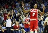 """M.Chalmersas atvedė """"Grizzlies"""" į pergalę prieš rezultatyviai pasirodžiusio R.Westbrooko kariauną"""