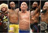 Fanų verdiktas: 25 geriausi visų laikų MMA kovotojai