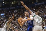 """""""Celtics"""" komandai įgėlęs J.Valančiūnas: """"Aš nuolat mokausi"""""""
