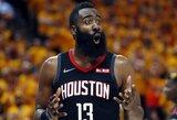 """""""Rockets"""" nepagarba """"Clippers"""" klubui: komanda pusfinalio serijai ruošis Oklande"""