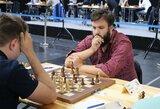 Lietuvos vyrų šachmatų rinktinė Europos čempionate neranda kelio į pergales
