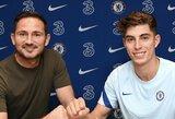 """Oficialu: K.Havertzas pasirašė penkerių metų sutartį su """"Chelsea"""""""