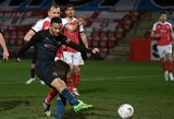 """2 įvarčius per 3 minutes pelnęs """"Man City"""" žengė į kitą FA taurės etapą"""