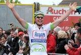 """Daugiadienėse """"Tour de Picardie"""" dviračių lenktynėse triumfavo J.Degenkolbas, lietuviai liko už 20-uko ribos"""