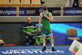 Didelę persvarą turėjęs K.Šleiva apmaudžiai nepateko į pasaulio jaunimo imtynių čempionato mažąjį finalą