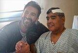 """D.Maradona išleistas iš ligoninės: """"Jam tai turbūt buvo sunkiausias gyvenimo laikotarpis"""""""
