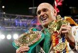 """Didžiojoje Britanijoje kilo sąmyšis dėl galimo T.Fury dopingo testo nuslėpimo 2015m., F.Warrenas tai pavadino """"šlamštu"""", čempioną gynė ir WBC prezidentas"""