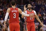 """Puikus N.Mirotičiaus pasirodymas ir svarbi """"Pelicans"""" pergalė"""